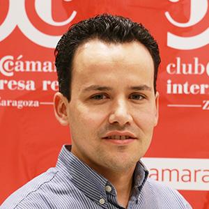 Nacho Peláez. Responsable de Sistemas de Información de Cámara Zaragoza