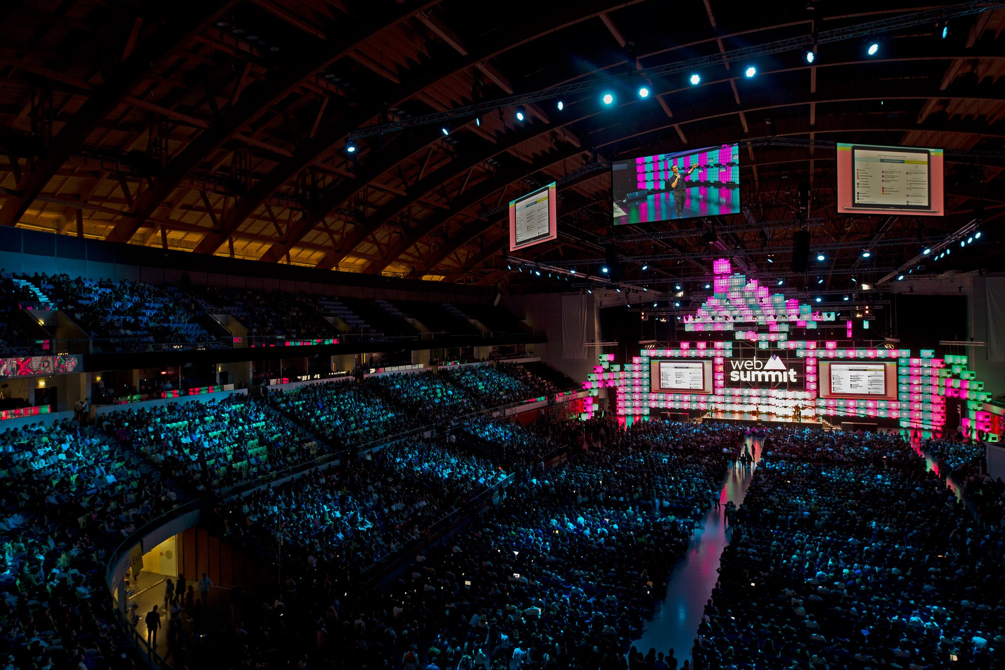 Fotos: @WebSummit