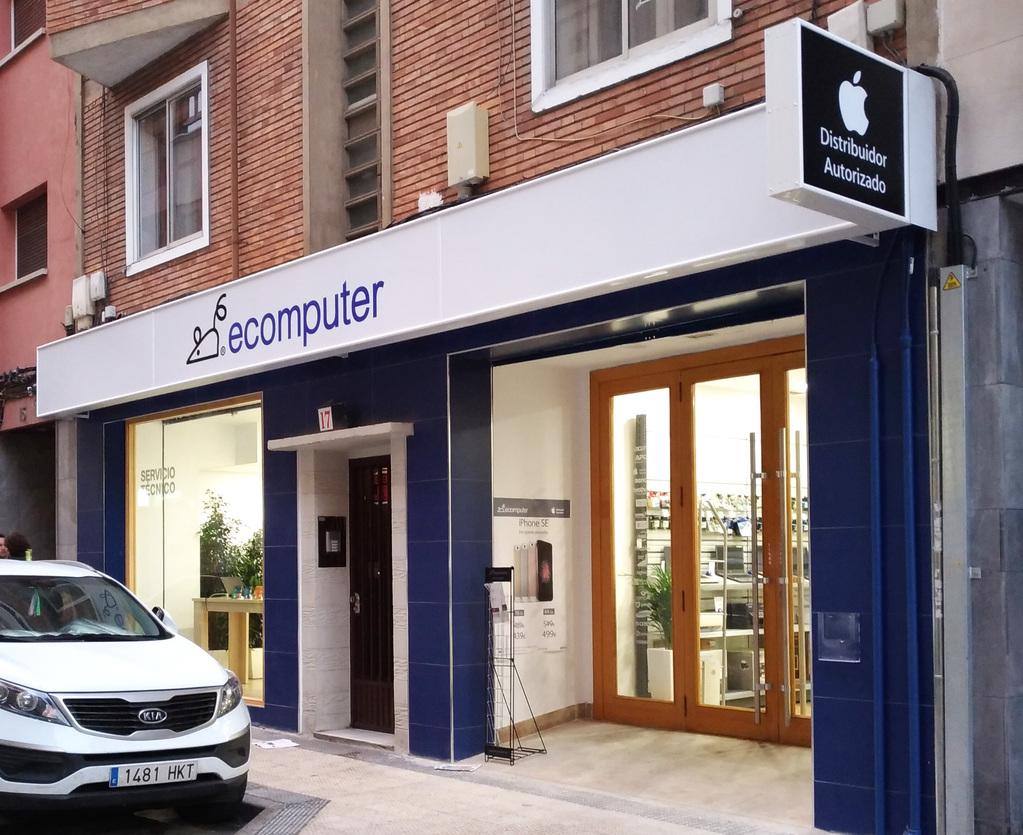 Nueva sede de Ecomputer en Zaragoza.
