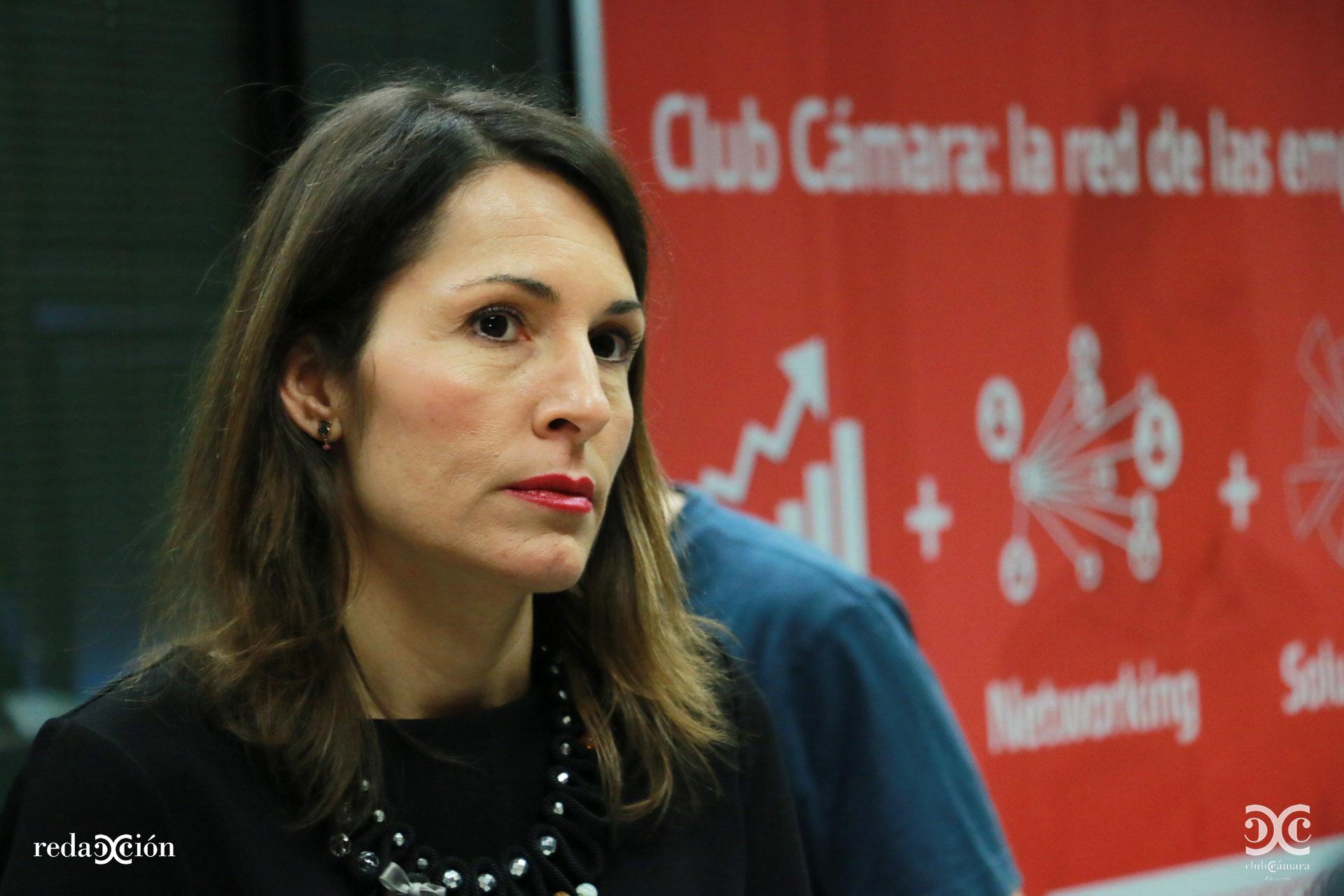 Natalia García, responsable de Comercio y Turismo de Cámara Zaragoza