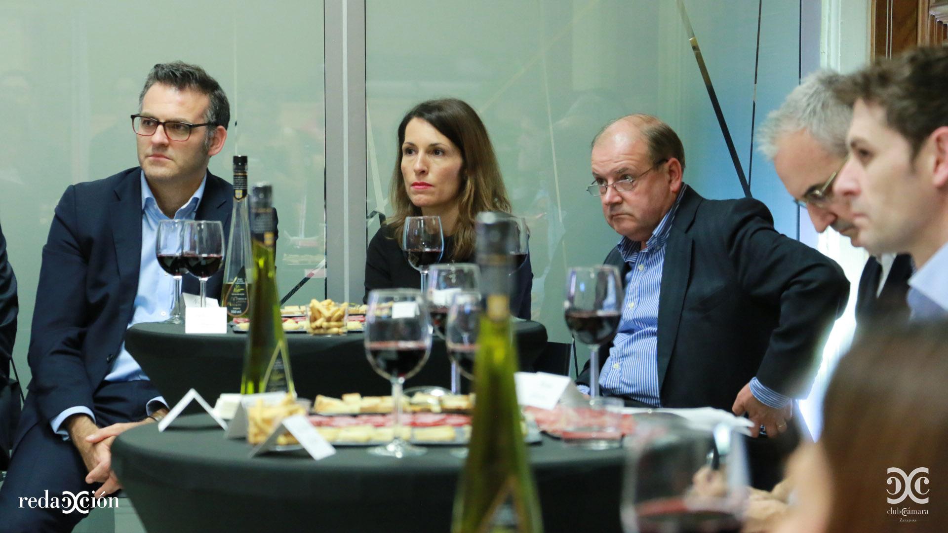 Javier Andonegui, Natalia García y Félix Longas.