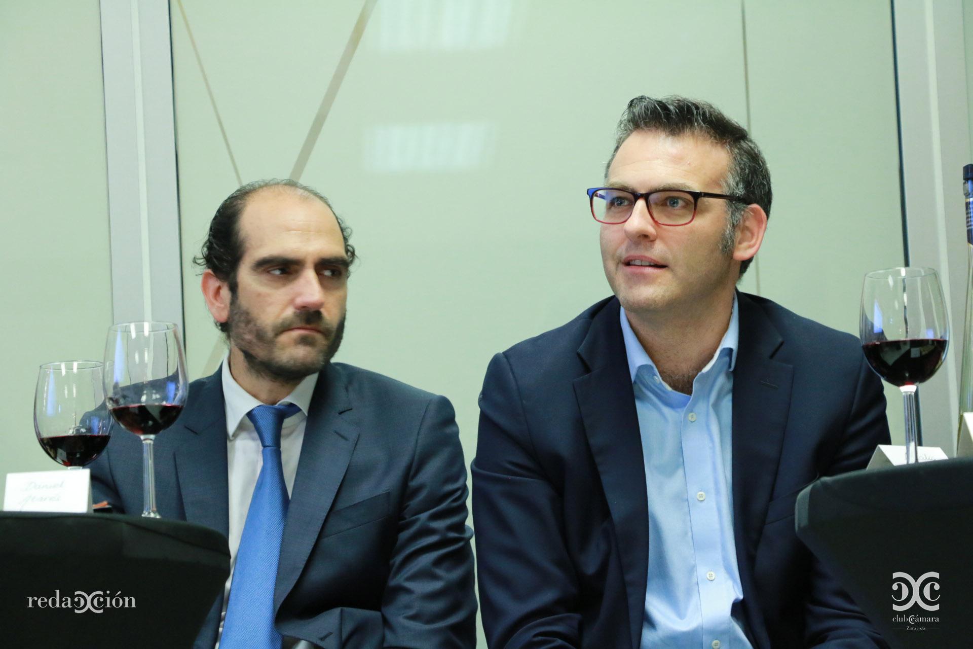 Daniel Rey y Javier Andonegui.