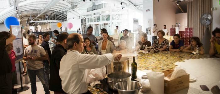 Show Cooking en Eataly Roma.