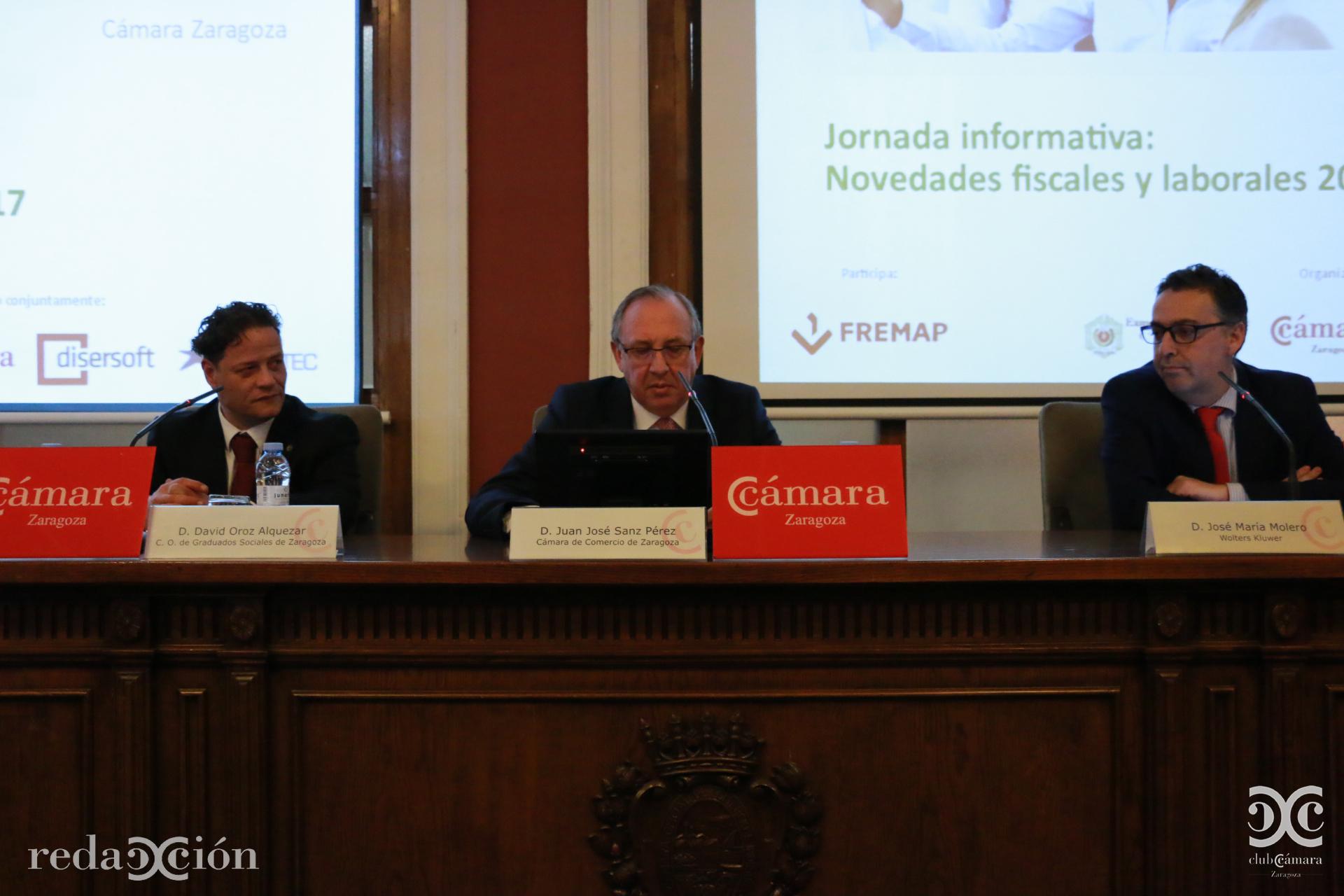 David Oroz, Juan José Sanz, José María Molero