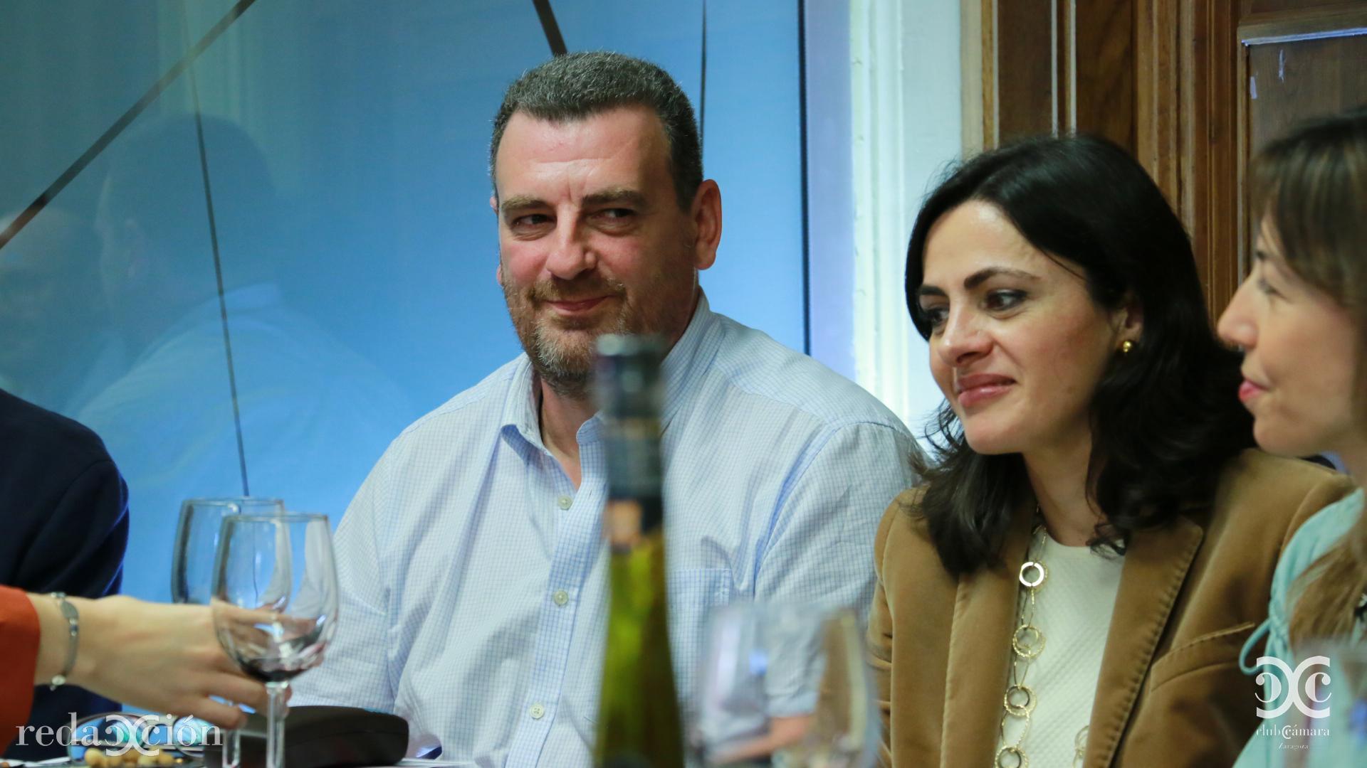 Carlos Schölderle y Carolina Tobía.