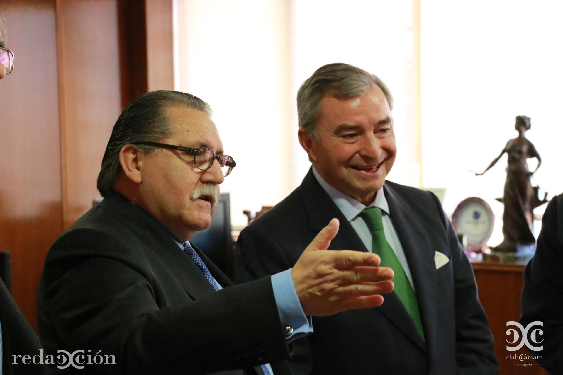 Manuel Teruel y Javier Vega de Seoane