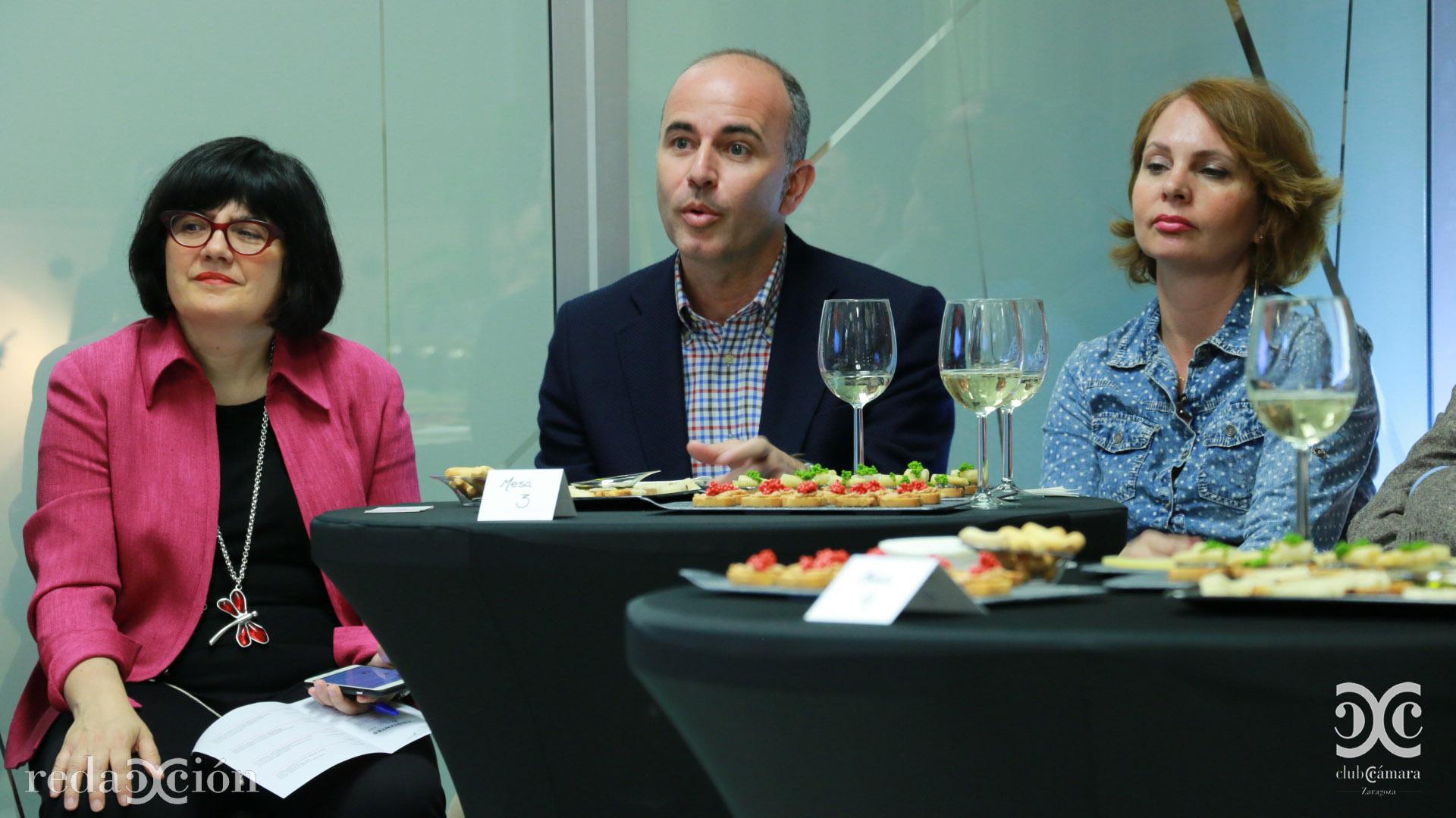 Ana Hernández, David Herrando, Carmen Herrarte