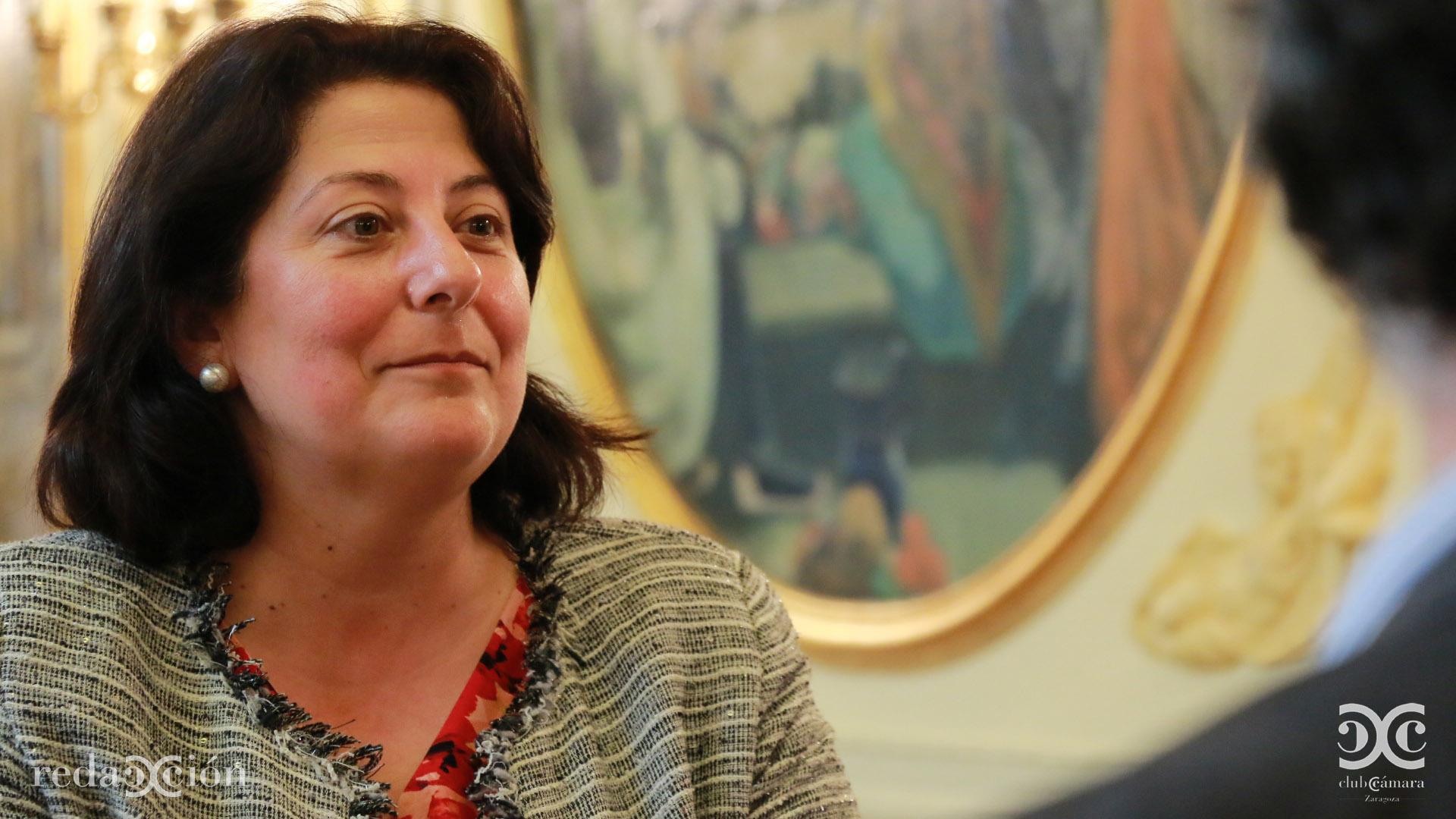 María López Palacín - Vicepresidenta 1ª Cámara Zaragoza