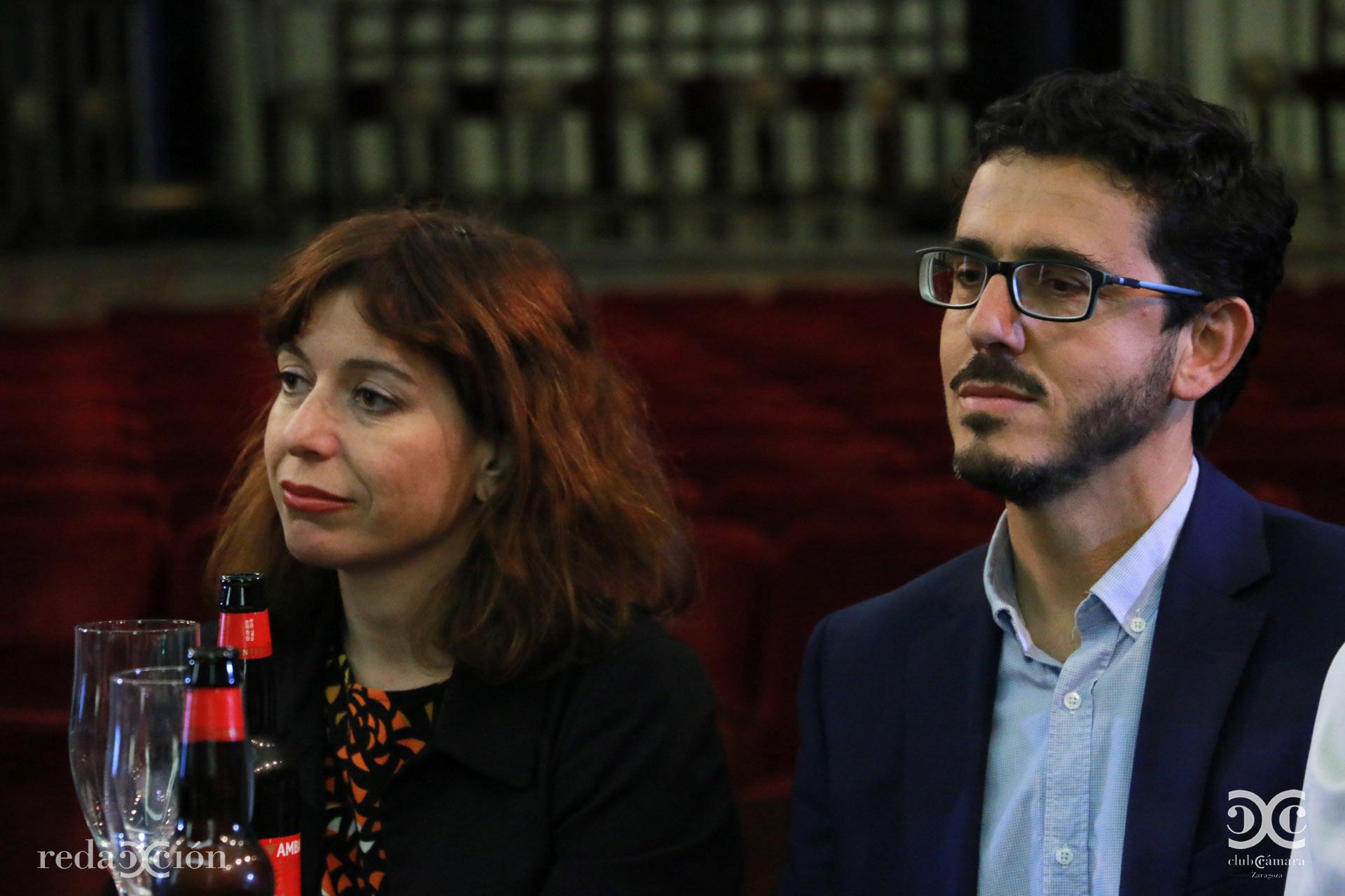 Maite Puntes e Íñigo Ruiz-Capillas