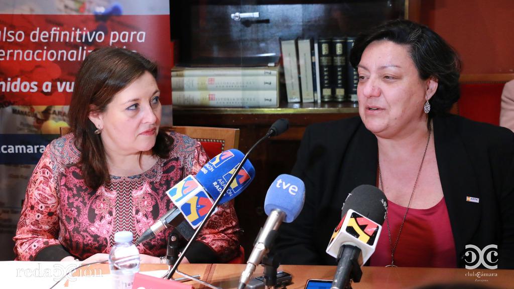 Nieves Ágreda y María José Acedo, de Arpa EMC.