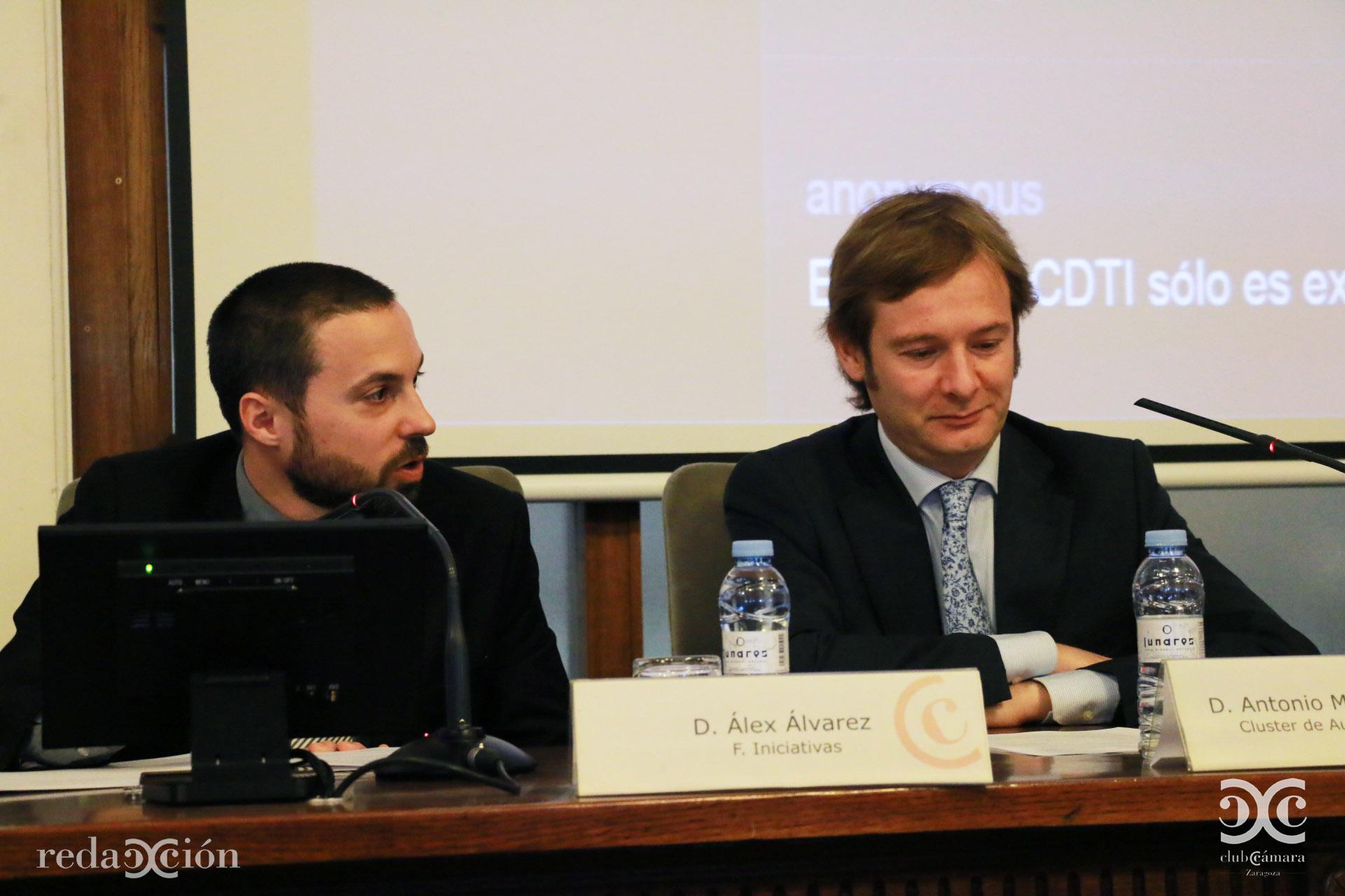 Álex Álvarez y Antonio Mª Soriano Ibarra