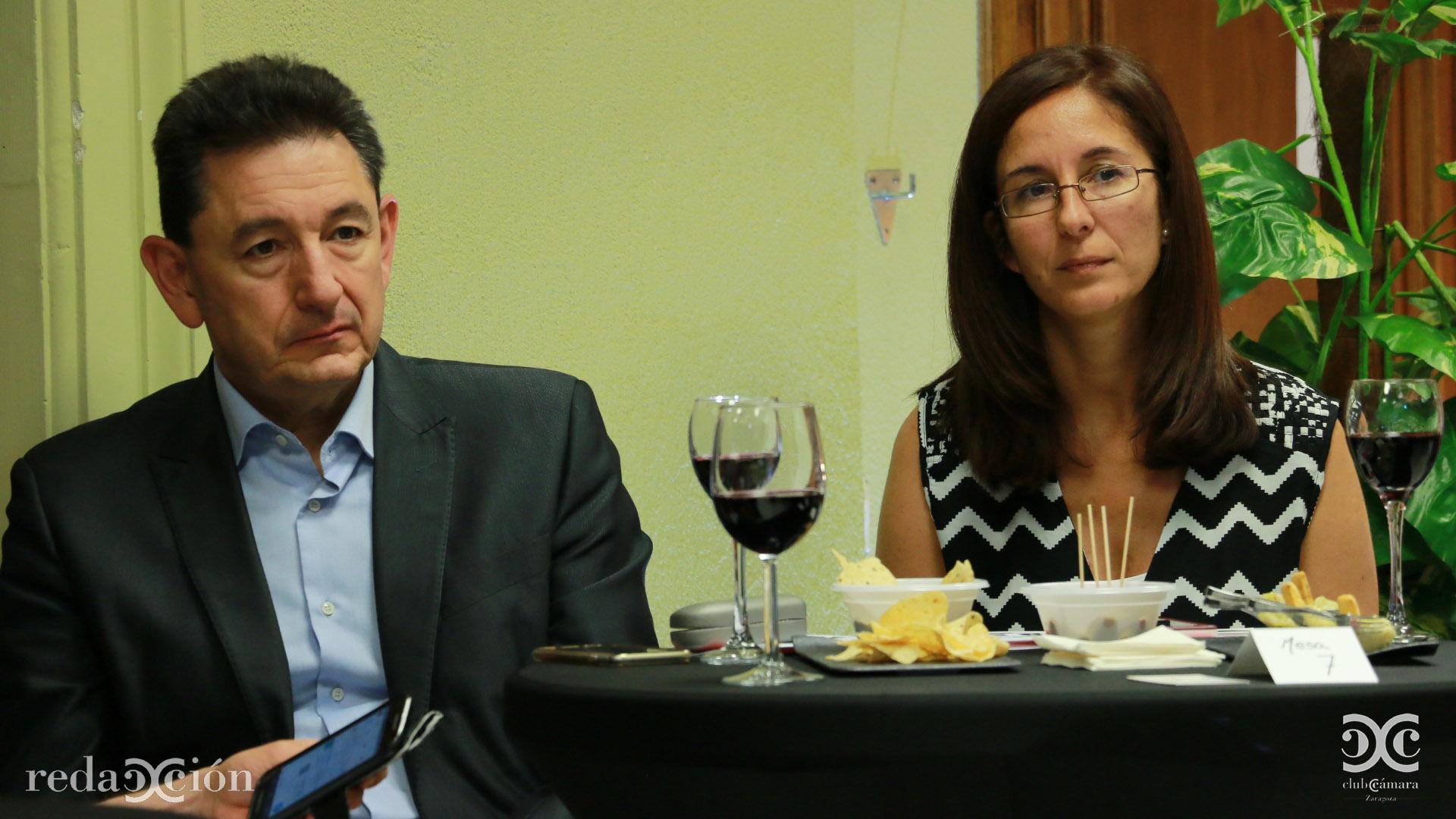 Víctor Vidal y Belén Arnas.