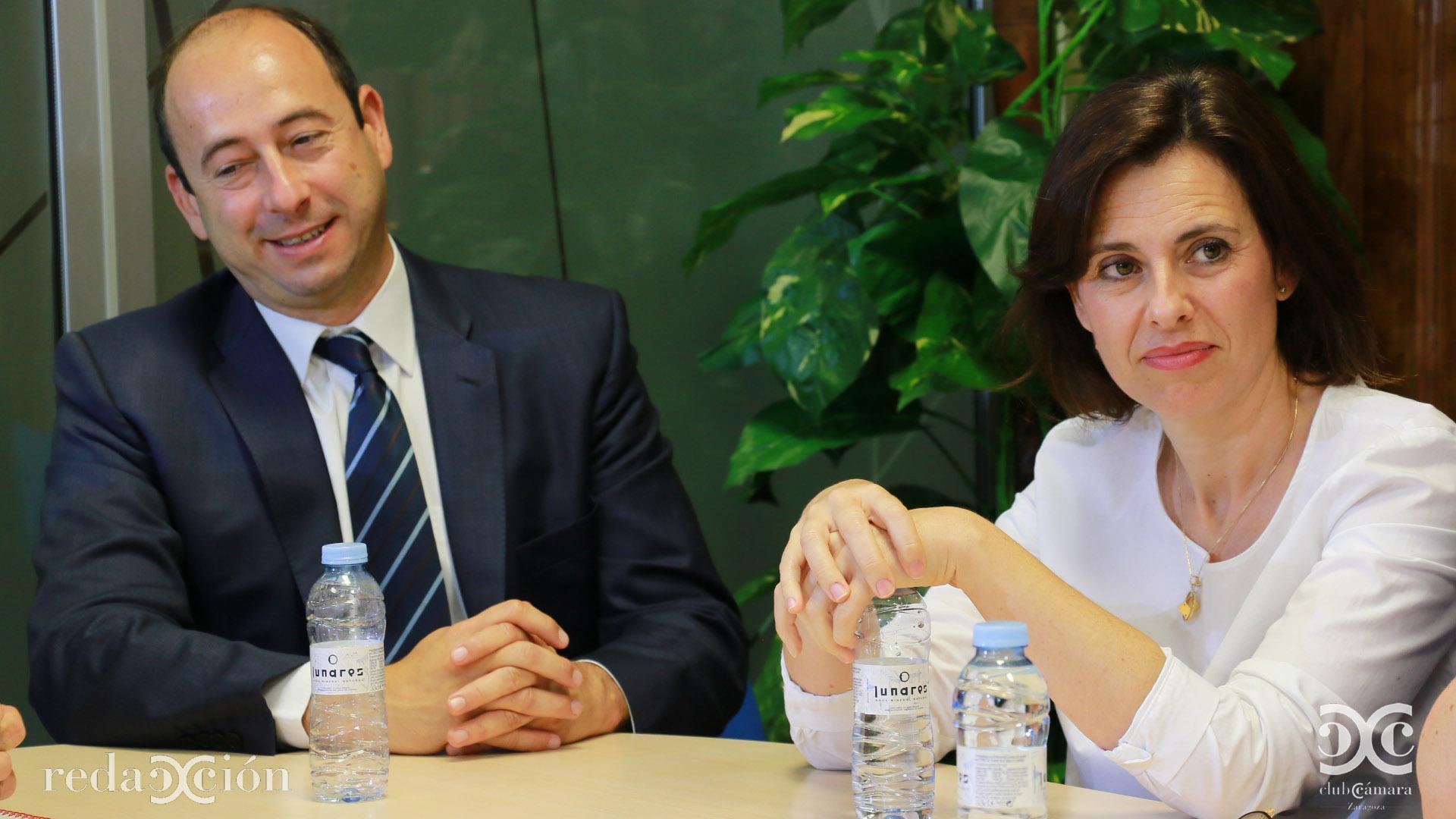 Óscar Landeta y Paula Yago.