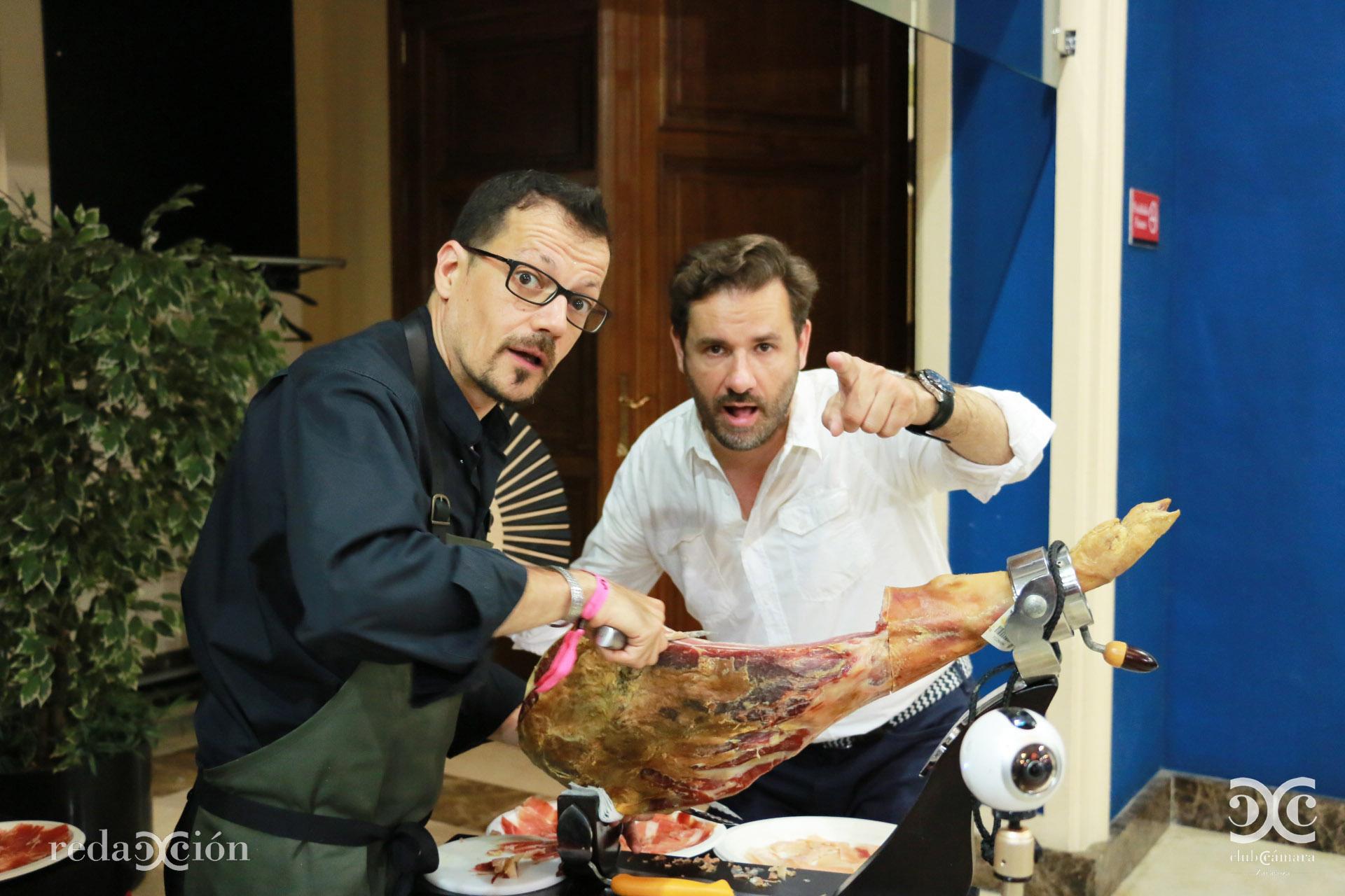 Iván Morte y Mariano Espallargas
