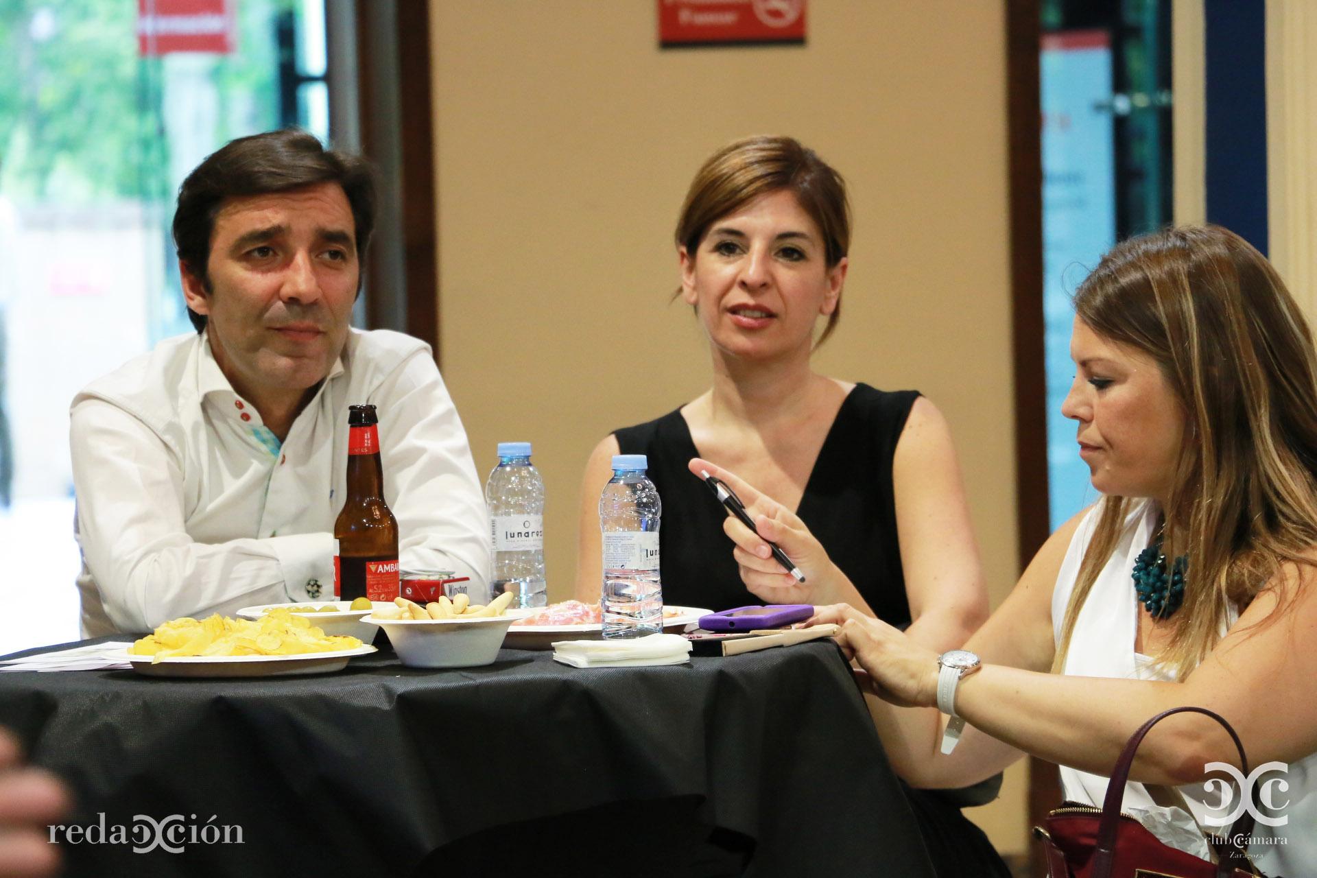 Óscar Álvarez, Asun Navarro, Idoya Adot
