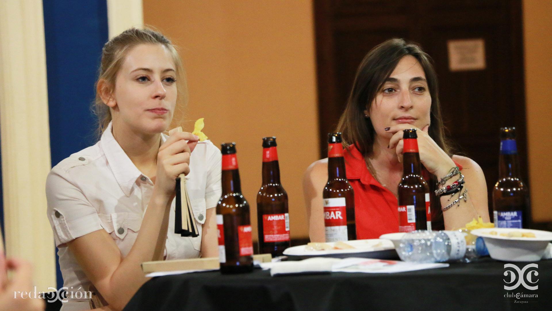 Jara Herrero y Cristina Gómez