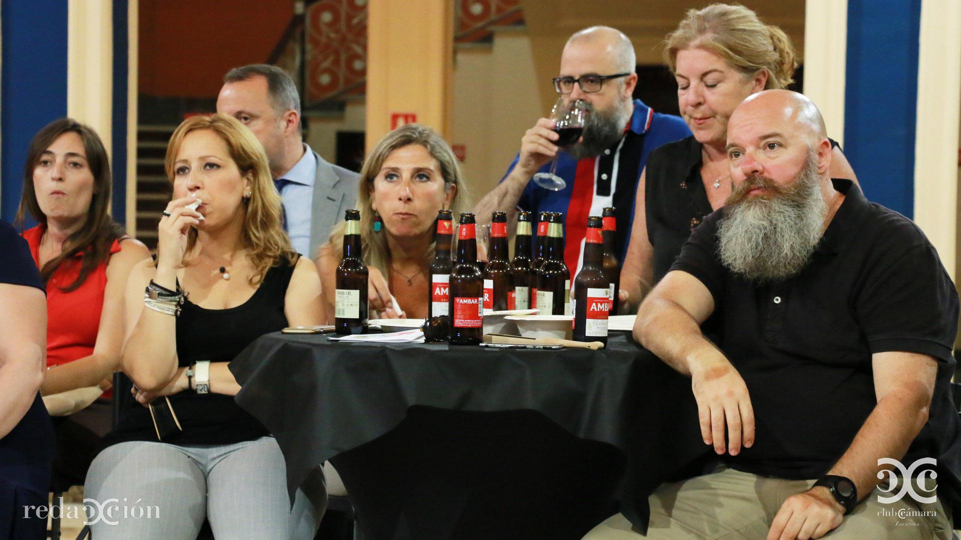 Berta Lorente, Juan Royo y Lucas Aisa