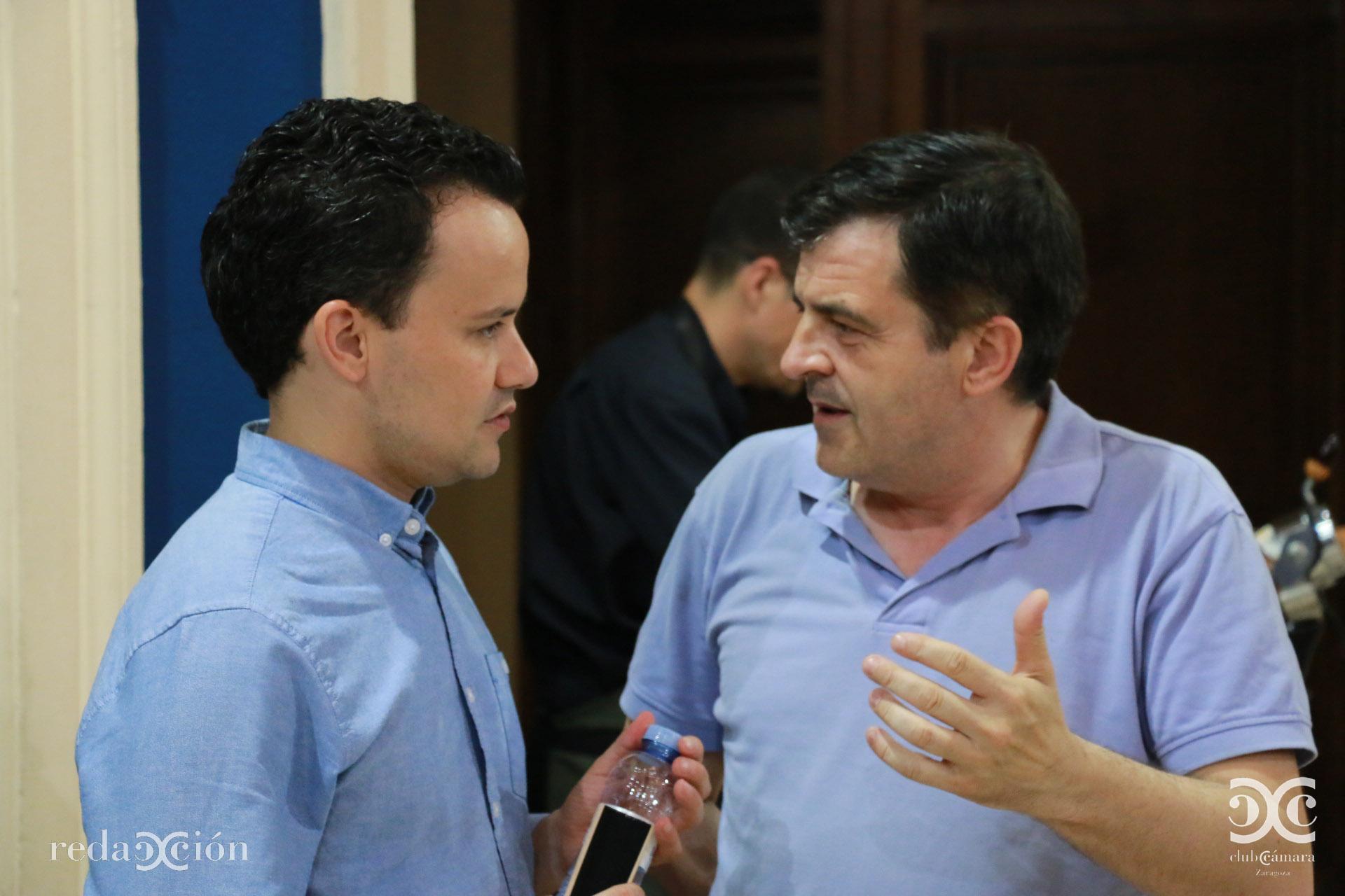 Nacho Peláez y Narciso Samaniego.