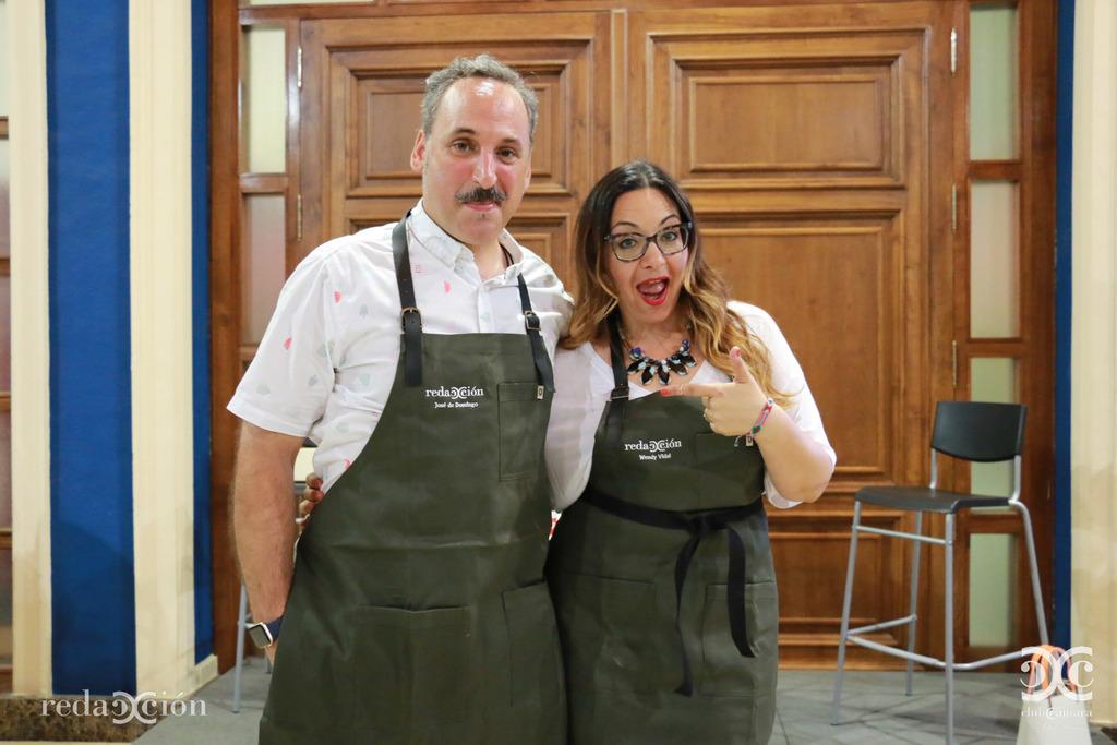 José de Domingo y Wendy Vidal