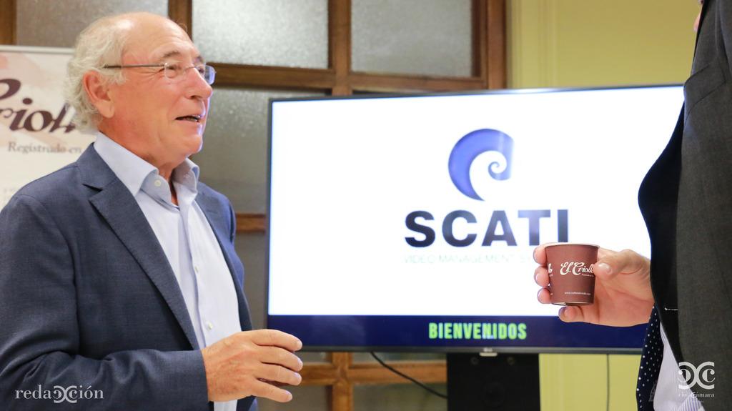 Cafés El Criollo ha aportado el sabor a la bienvenida de SCATI al Club Cámara Internacional