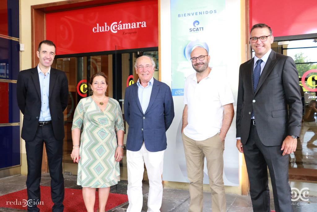 Juan Carlos Riosalido, Nieves Ágreda, Alfonso Gil, Ramón Añaños y Javier Andonegui.
