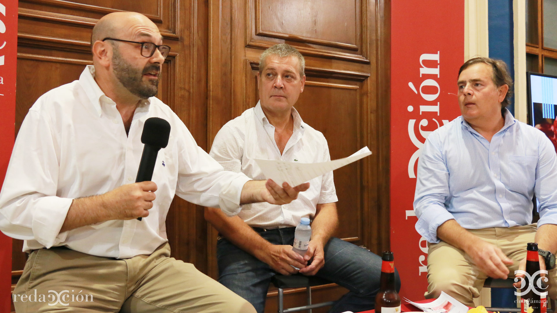 Ramón Añaños, Ricardo Lop, Eduardo Paz