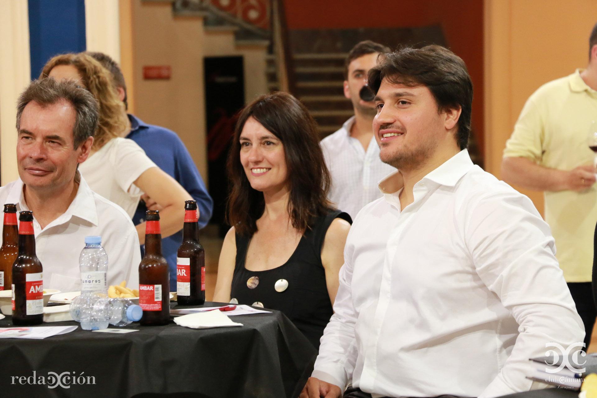 Salvador Congos, Asun López, Gerardo Celletti