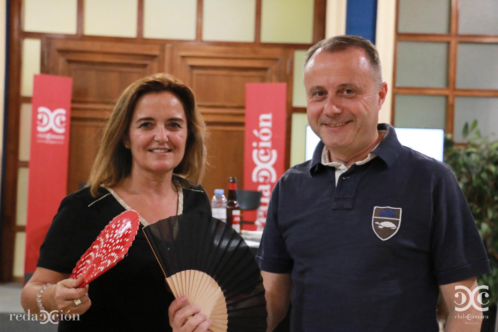 Gloria Gálvez y Carlos Martínez