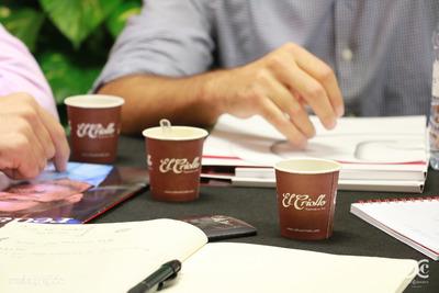 Cafés El Criollo ha aportado el sabor a la bienvenida de Tefipro a Club Cámara.