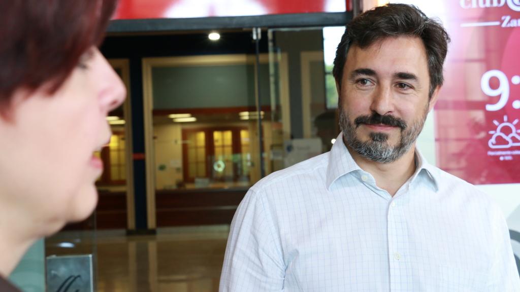 David Palomares, de Industrial Elevación. Foto: Arturo Gascón.