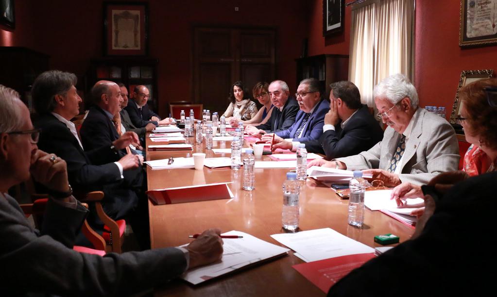 Reunión del Consejo de Cámaras de Aragón.