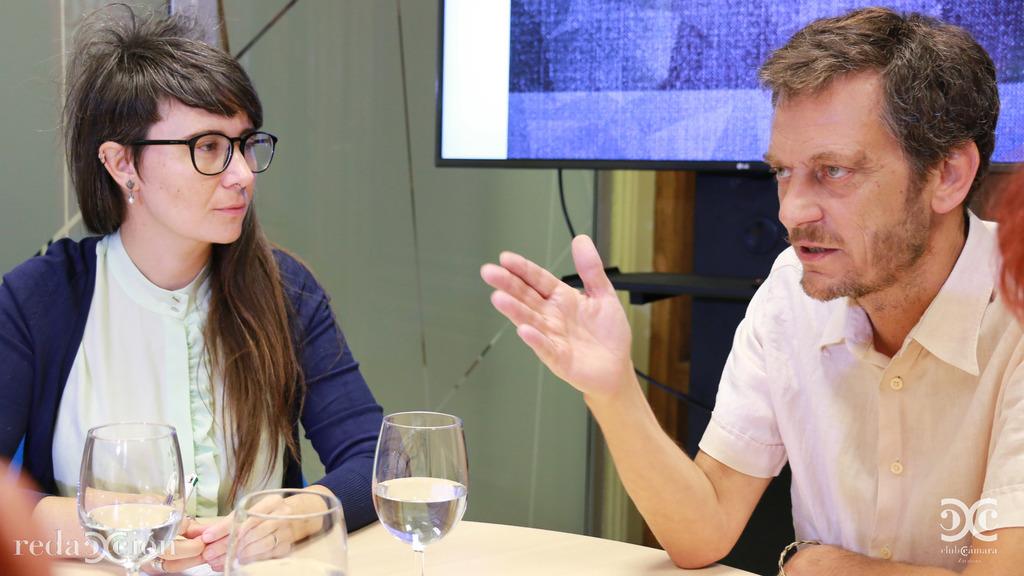 Miriam Moreno y Javier Creus.
