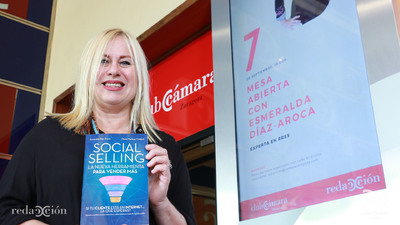 Esmeralda Díaz-Aroca. Fotos: Arturo Gascón.