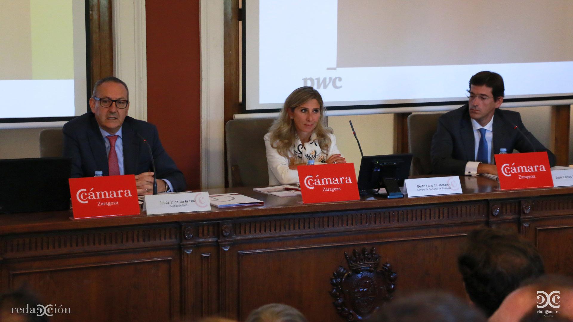 Jesús Díaz de la Hoz, Berta Lorente, José Carlos Esponera