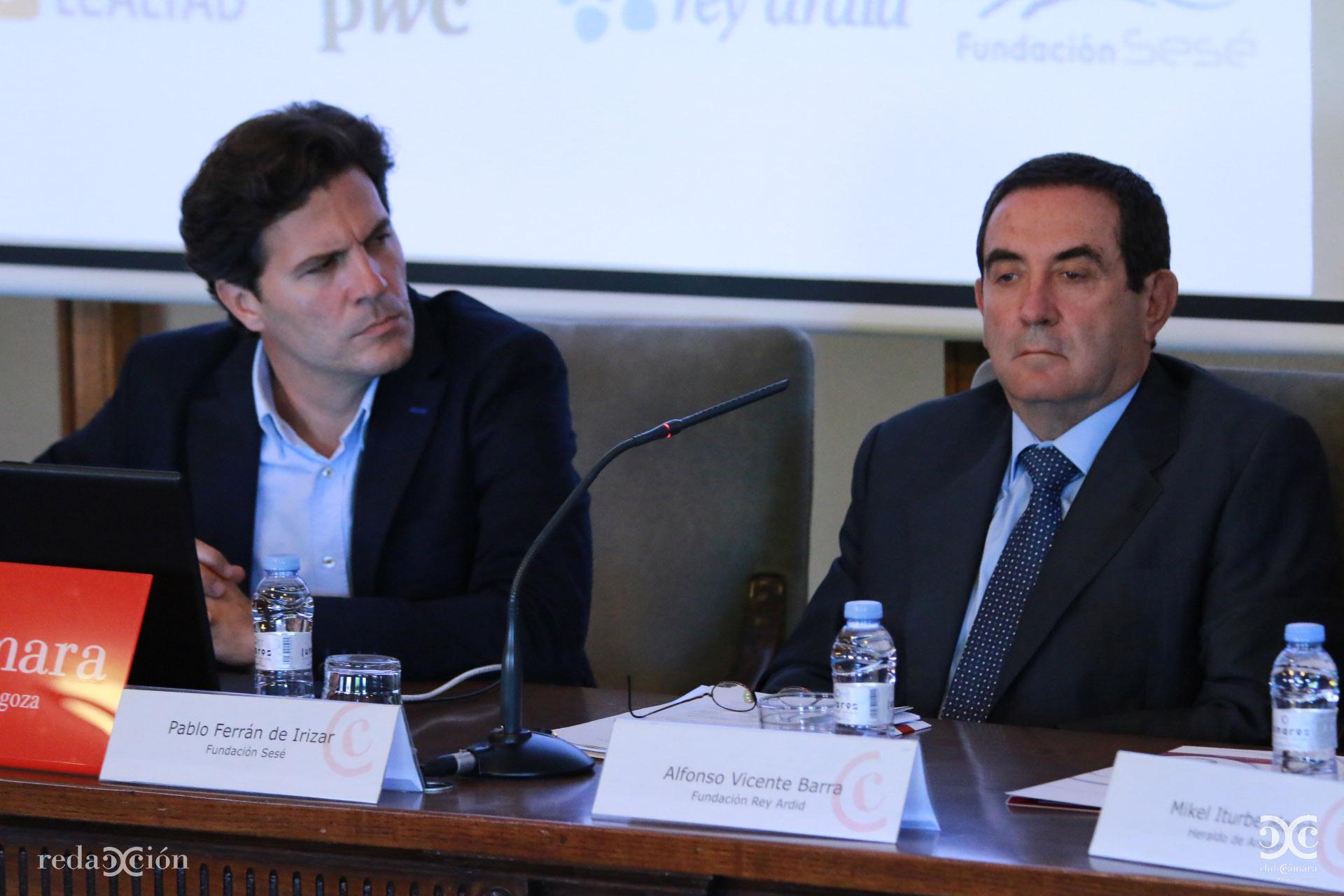 Pablo Ferrán de Irizar, Alfonso Vicente,