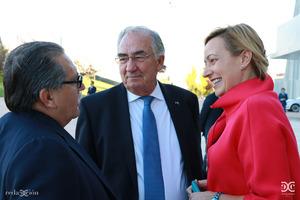 Manuel Teruel, Amado Franco, Marta Gascón.