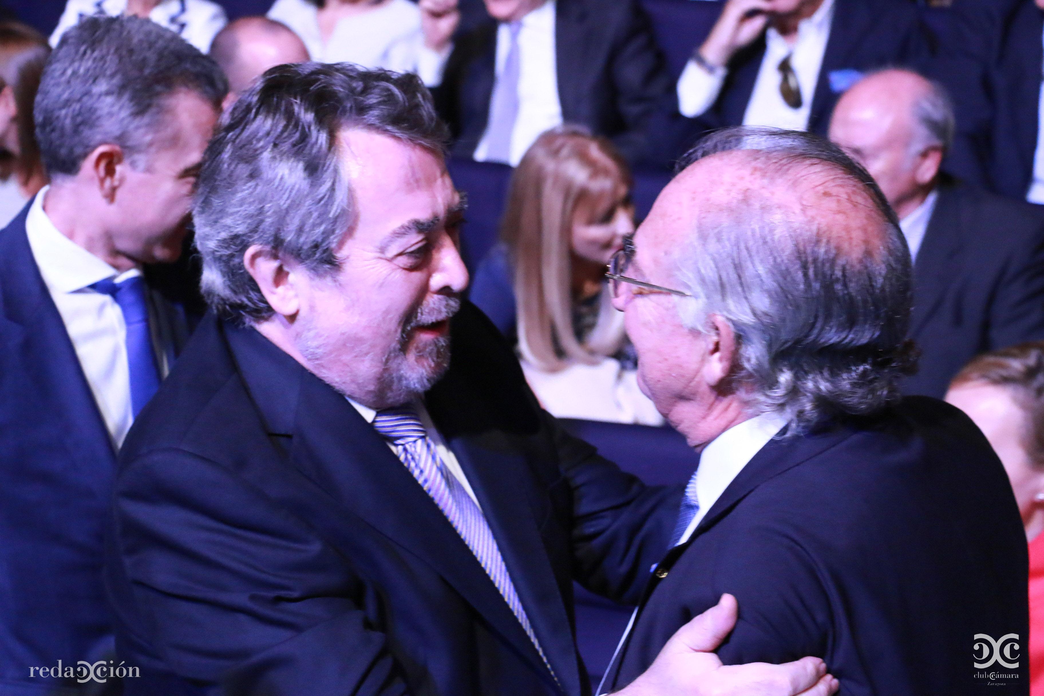 Juan Alberto Belloch, Amado Franco.
