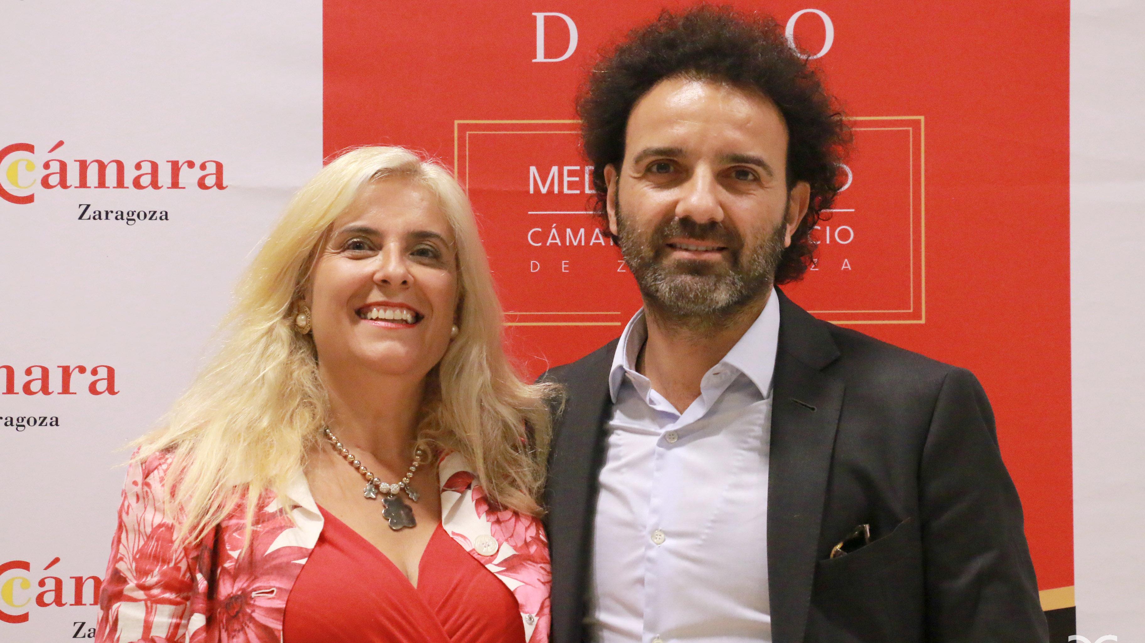 María Dolores Calomarde y Toño Becerril