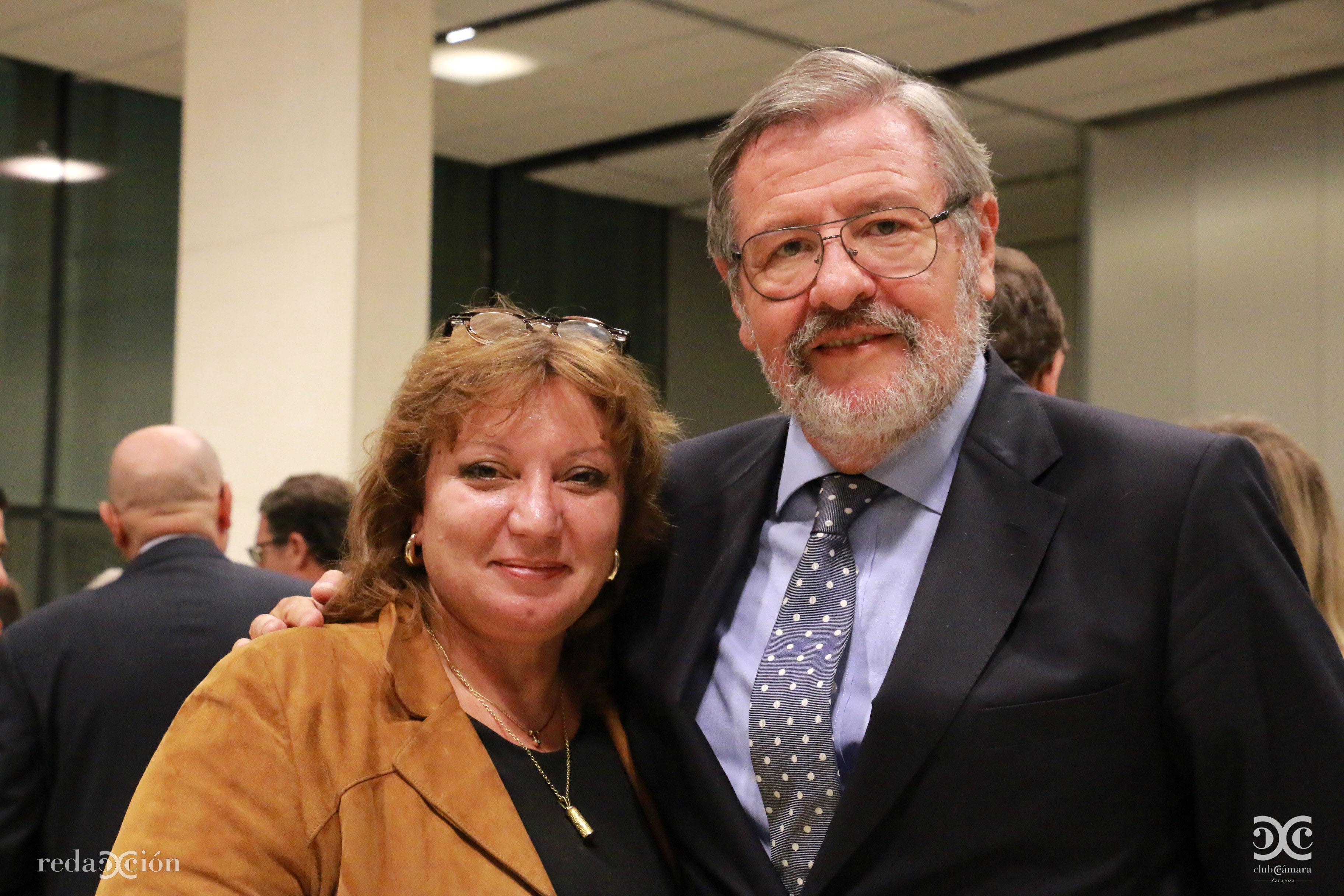 Marisa Claver, José Longás
