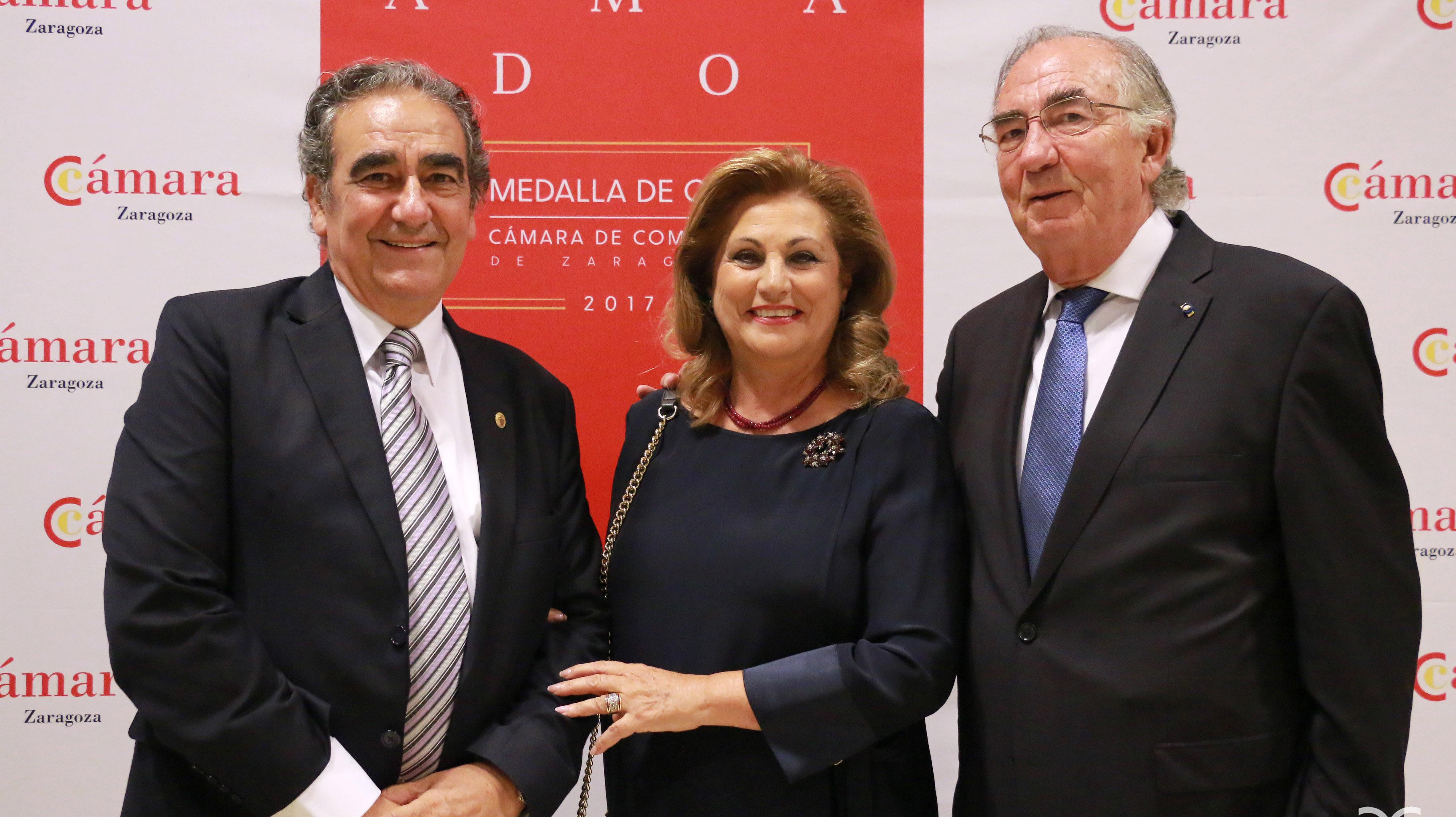 Joaquín Franco, María Pilar García, Amado Franco