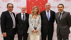 Joaquín Franco, José Miguel Guinda, Berta Lorente, Amado Franco, Ramón White