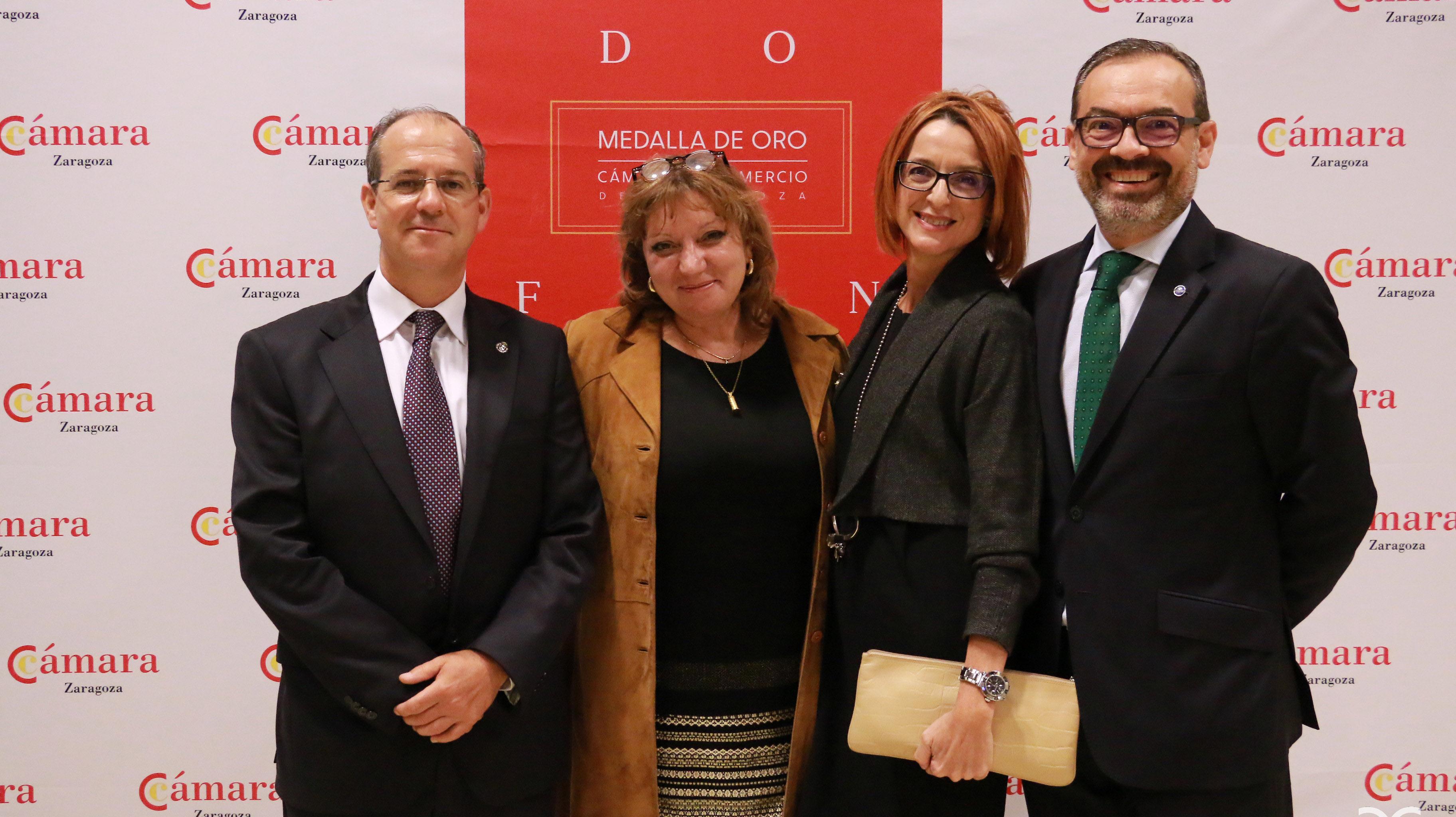 Javier Nieto, Marisa Claver, Natividad Blasco, Rogelio Cuairán