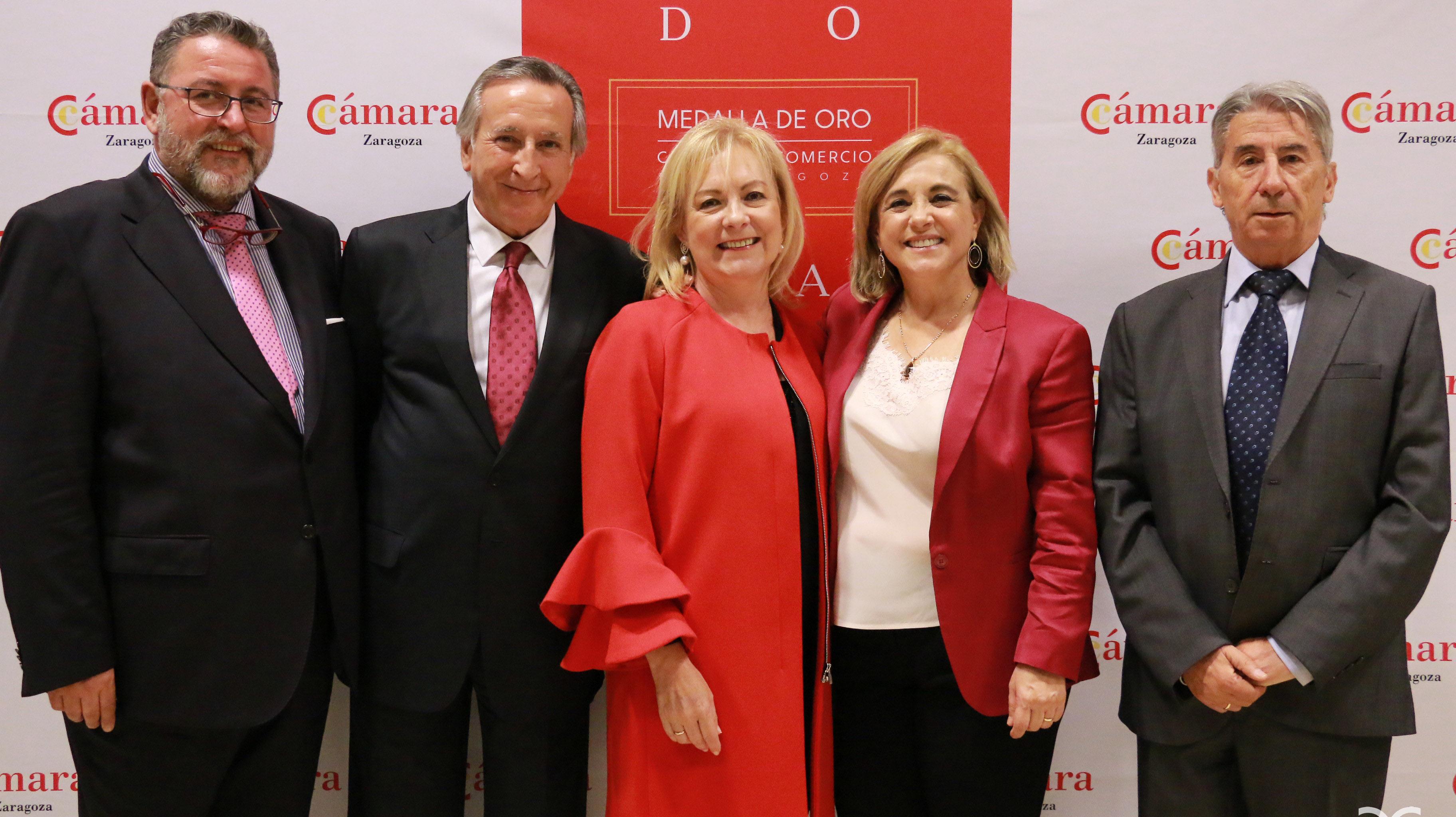 Enrique Díaz, Antonio Morlanes, María Jesús Lorente, Blanca Fernández-Galiano, Emilio López de Hita