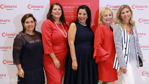 Nieves Ágreda, María López, Irene Carmen, María Jesús Lorente, Berta Lorente