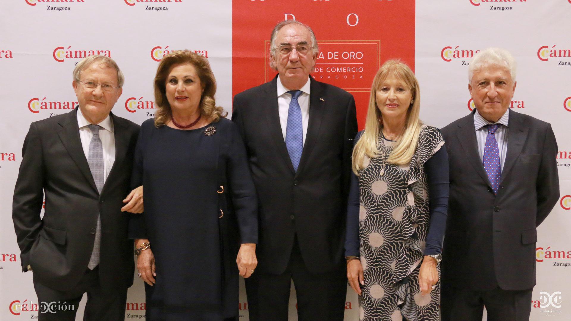 Jesús Morte, María Pilar García, Amado Franco, María Pilar Marco, Fernando Vicente