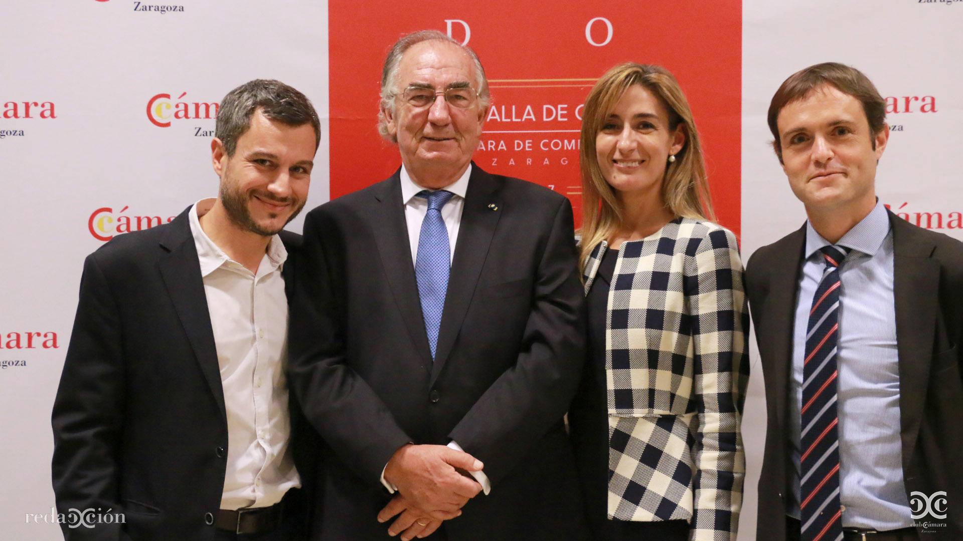 Nacho Torre, Amado Franco, Raquel Martínez, Antonio Martínez