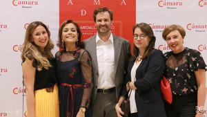 Cristina Paz-Peñuelas, Ana Rodríguez, Mariano Espallargas, Gosia Chylak