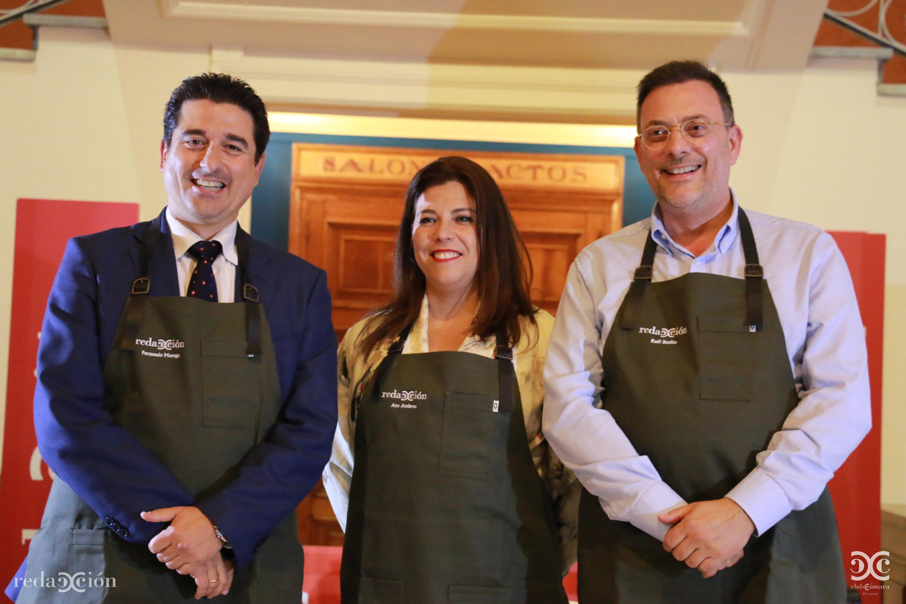 Fernando Moraga, Ana Ambros, Raúl Benito