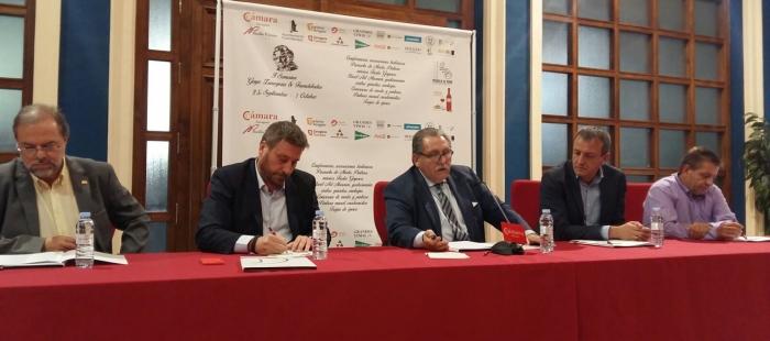 Bizén Fuster, José Luis Soro, Manuel Teruel, Fernando Rivarés y