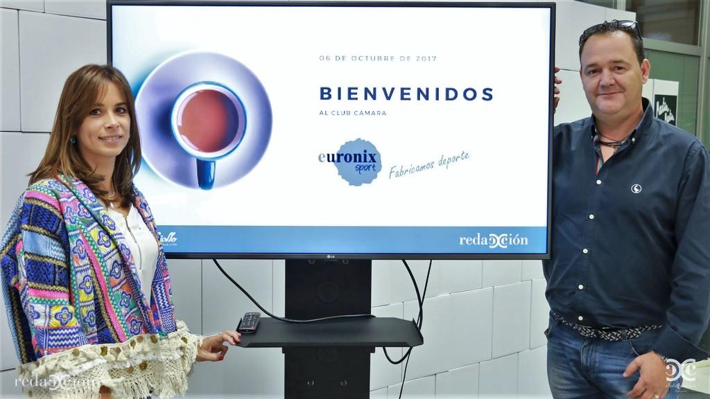 Begoña Arnillas Alberto Martín Euronix